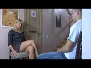 Зрелое порно с горячей блондинкой и хуястым мачо